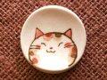 三毛猫染付箸置 茶
