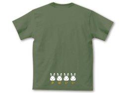 画像4: かばいいTシャツ カーキ