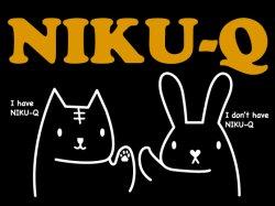 画像1: NIKU-Q ブラック