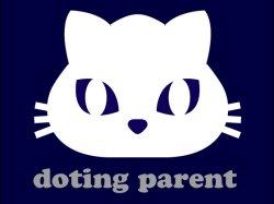 画像1: 親バカ猫 ネイビー