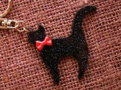 画像2: 黒猫ちゃんキーホルダー