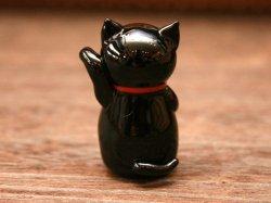 画像3: 招き猫 黒