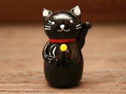 画像5: 招き猫 黒