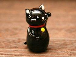 画像4: 招き猫 黒
