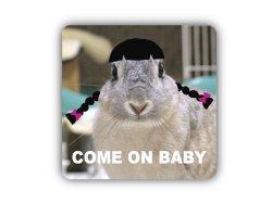 画像1: COME ON BABY。ステッカー