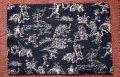 四六判ブックカバー 鳥獣戯画(紺)