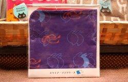 画像1: スクエアーマスクケース うさぎ(紫×ピンク)